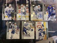 2020-21 Upper Deck Series 1 Hockey Toronto Maple Leafs Team Set - mint
