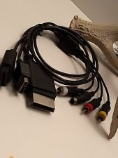 Wii PS2 PS3 S Video RCA Cords