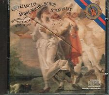 CD album: Stravinsky - Cho-Liang Lin - André-Michel Schub. CBS. C3