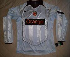 RC Lens Football Shirt Jersey Mailot away 2004 2005 Nike XL grey Orange