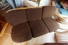 Sought after Vintage Retro BLONDE Ercol 334 / 3 Seater Sofa with cushion set 2