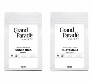 Organic Costa Rica & Guatemala Fresh Dark Roasted Coffee Sampler, 1 LB Each
