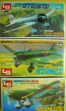 3 Sealed Ls Mitsubishi Ki-15 Babs kits each a different version 1:72 scale Nib