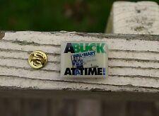 Wal-Mart A Buck At A Time Always Low Prices Metal Enamel Employee Pin Pinback