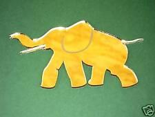 Elephant Acrylic Mirror/ Laser Cut/ Wall Hanging Decor / laser engraved
