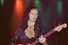 """12""""*8"""" concert photo of Rainbow - Liverpool 1977"""
