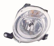 Fiat 500 2008-> Headlight Headlamp Passenger Side Left