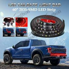 "Red/White 60""Truck Tailgate LED Light Bar For Reverse Brake Turn Signal Running"