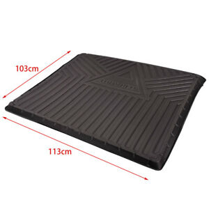 BAPMIC Rear Luggage Boot Liner Cargo Trunk Mat Tailored for VW Touareg 7P0061160