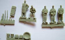 Field Kitchen Figures & Accessories Milicast FIG009 resin figures 1/72