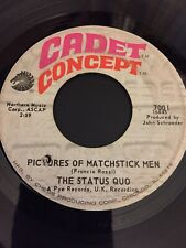 "Status Quo - ""Pictures of Matchstick Men"" 45 RPM 1st pressing"