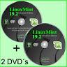 Linux Mint 19.2 Cinnamon, 32 + 64 Bit - 2x Live DVD, multilingual, bootable