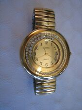 Watch with Crystals Gorgeous Gold Vienna Ladies