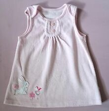 Polycotton Patternless Dresses (0-24 Months) for Girls