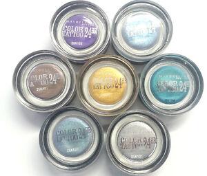 Maybelline Eyeshadow Color Tattoo 24HR Gel Cream Eye Shadow [7 Shades Available]