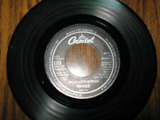 45 RPM - PAUL MCCARTNEY - SILLY LOVE SONGS