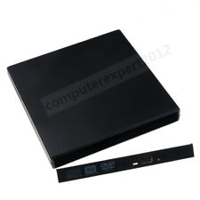 USB External Case Enclosure For 12.7mm PATA IDE Laptop DVD Blu-ray Drive Burner