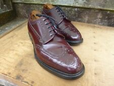 CHURCH VINTAGE BROGUES – BROWN / OXBLOOD – GRAFTON – UK 6.5 – EXCELLENT COND