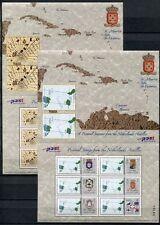 Niederländische Antillen 2004 Wappen Flaggen Landkarten Maps Flags 1325-1337 MNH