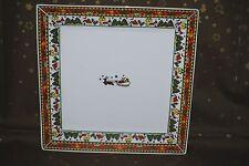 Weihnachtsgeschirr, eckige Platte, Servierplatte
