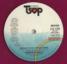 "People's Choice ‎– Movin' In All Directions - 12""  COLOR"
