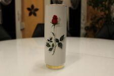 BAVARIA Heinrich WINTERLING | fiori vaso con motivo rose | 1934 | Oro Bordo