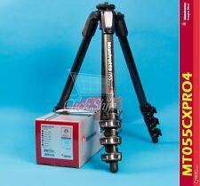 Manfrotto MT 055CXPRO4 Carbon Fiber Tripod Holds 19.8 lb (9kg) Mfr # MT055CXPRO4