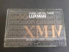 Luxman XM IV 46 Metal Skewing Nos cassette tape, New But Not Sealed