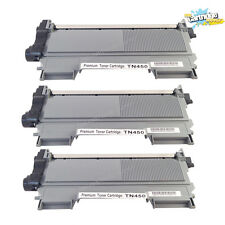 3PK Compatible TN450 Toner Cartridge for Brother HL2240 2242D 2270DW MFC7360N