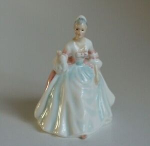 Royal Doulton Collectable Miniature 'Diana' Lady Figurine HN3310 by Peggy Davies
