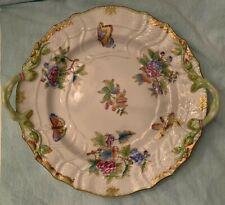 Herend Vintage VBO Queen Victoria Round Chop Platter