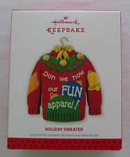 Hallmark 2013 Ugly Christmas Sweater Holiday Keepsake Ornament