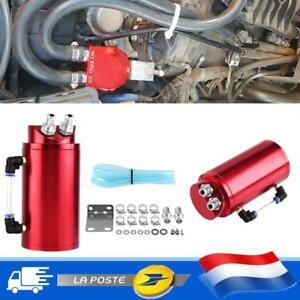 Raccords reniflard ronds rouges et 10 mm reniflard de réservoir d'huile voiture