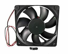 120mm 25mm New Case Fan 12V 42CFM PC CPU Cooling Computer Sleeve 2 Wire 377*