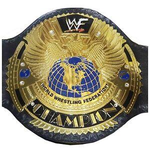 WWF Big Eagle World Wrestling Federation Champion Belt Attitude Era Scratch Logo