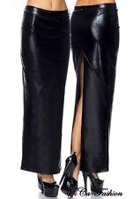 Markenlose bodenlange Damenröcke aus Polyester für die Freizeit