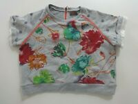 T-Shirt ♥ CATIMINI ♥ Taille 10 ans style sweat manches courtes
