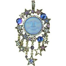 KIRKS FOLLY Starlight Glass Seaview Moon Magic Magnetic Enhancer Brass Tone