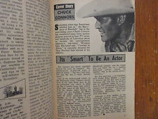 1969 New Zealand TV Mag(CHUCK CONNORS/COWBOY IN AFRICA/AGNES MOOREHEAD/BEWITCHED