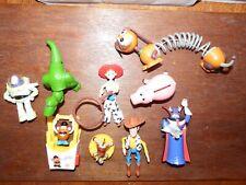 Toy Story Slinky RC Zurg Ham (money box) Rex bundle joblot figure toy playset