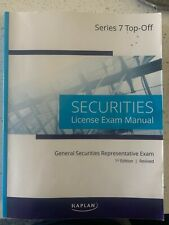 Kaplan Series 7 License Exam Manual and Class Notes Combo (1st Edition, 2020)