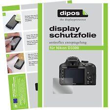 6x dipos Nikon D3300 Pellicola Prottetiva Antiriflesso Proteggi Schermo