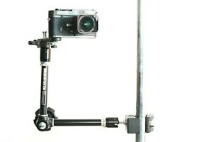 Manfrotto 244 Magic Arm with 035 Super Clamp and 143BKT Bracket - Manfrotto Set