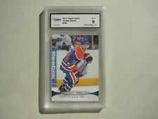 2011/12 UPPER DECK NHL HOCKEY CARD #381 JORDAN EBERLE GMA 9 MINT SHARP+ 11/12 UD
