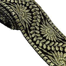 6.85 Cm Wide Decorative Trim Craft Fabric Velvet Supply Border Lace By 1 Yard