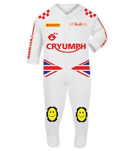 Cryumph Baby Biker Race Sleep Suits