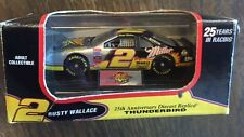 Revell-Monogram #2 Rusty Wallace  MILLER 1996 25 YEARS OF RACING 1:64