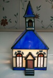 """Rare Forma Vitrum Stained Glass Limited """"Country Church"""""""