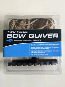 Diamond Archery by Bowtech - Compound Bow 2-Piece Quiver - MAX-4