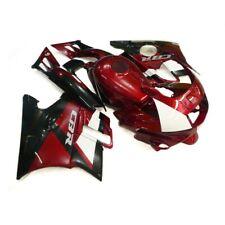 For Honda CBR600F2 1991 92 93 94 ABS Molded Fairing Bodywork Kit Black&Red